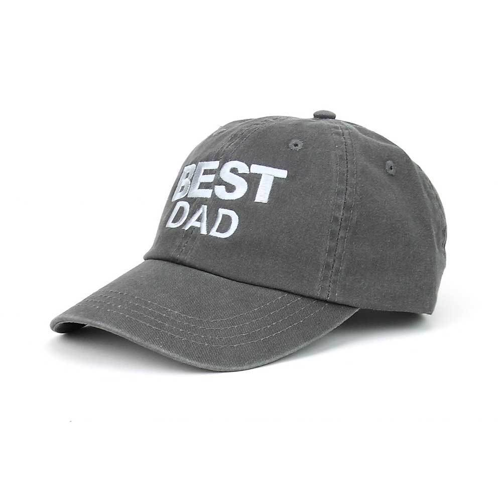 Best Dad Dyed Cotton Twill Cap