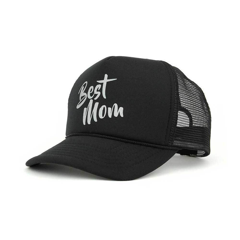 Best Mom Trucker Mesh Cap