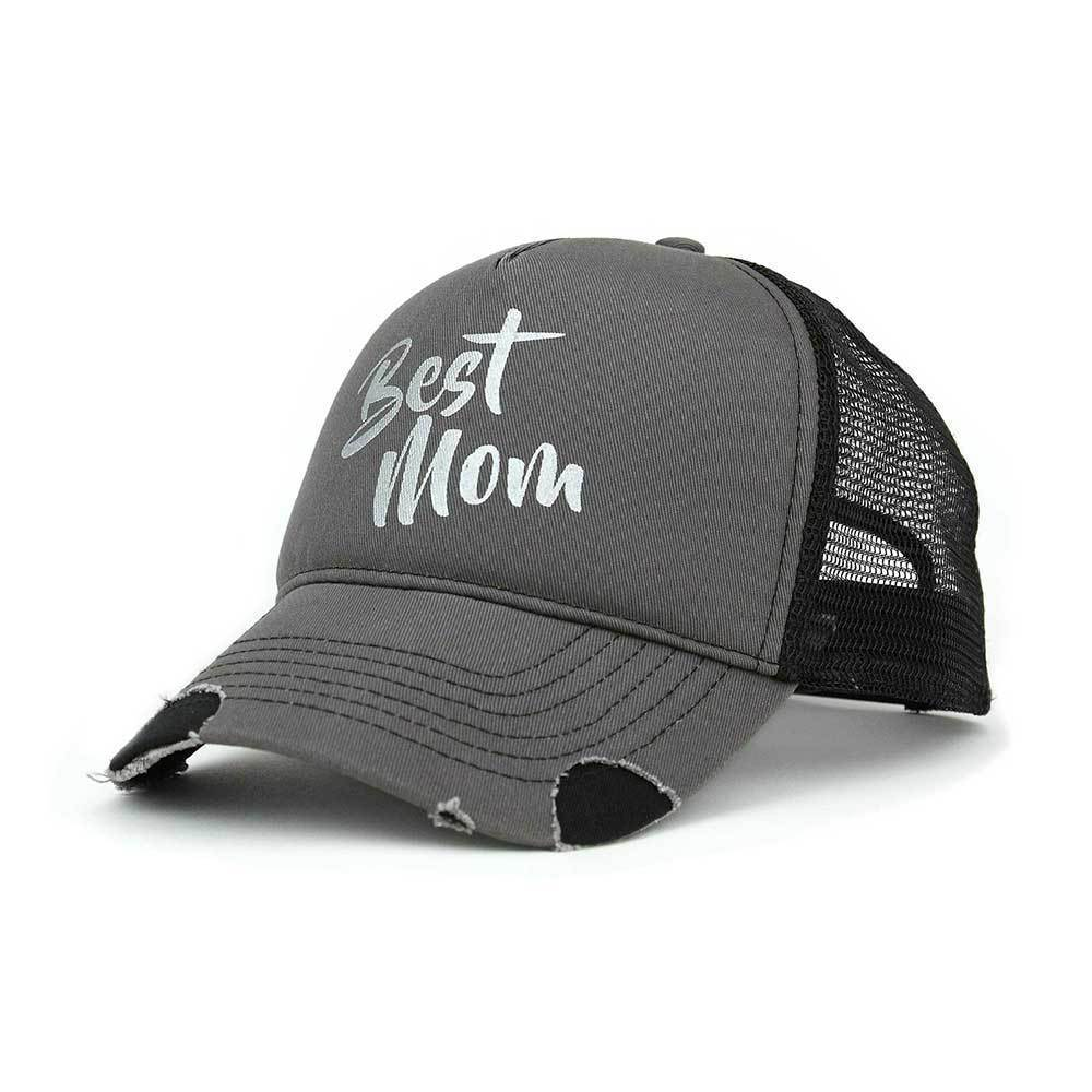 Best Mom Trucker Cap