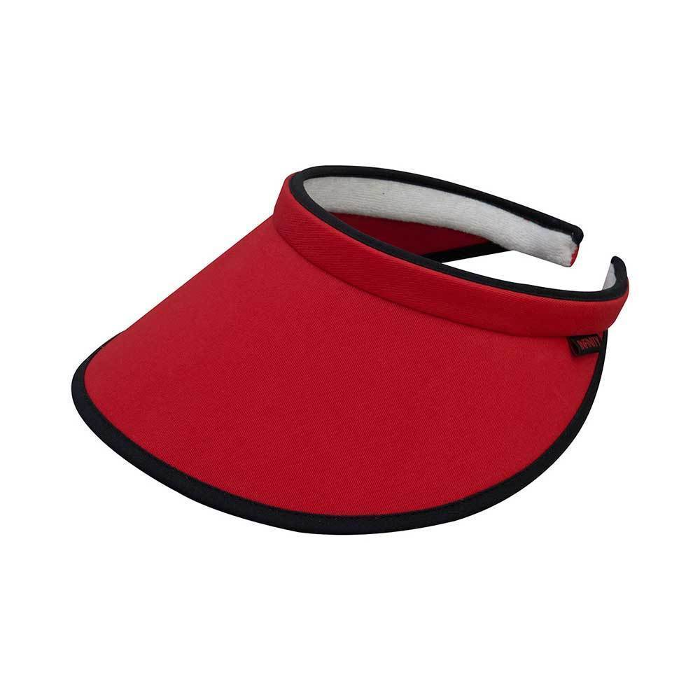 Brushed Cotton Clip-On Visor