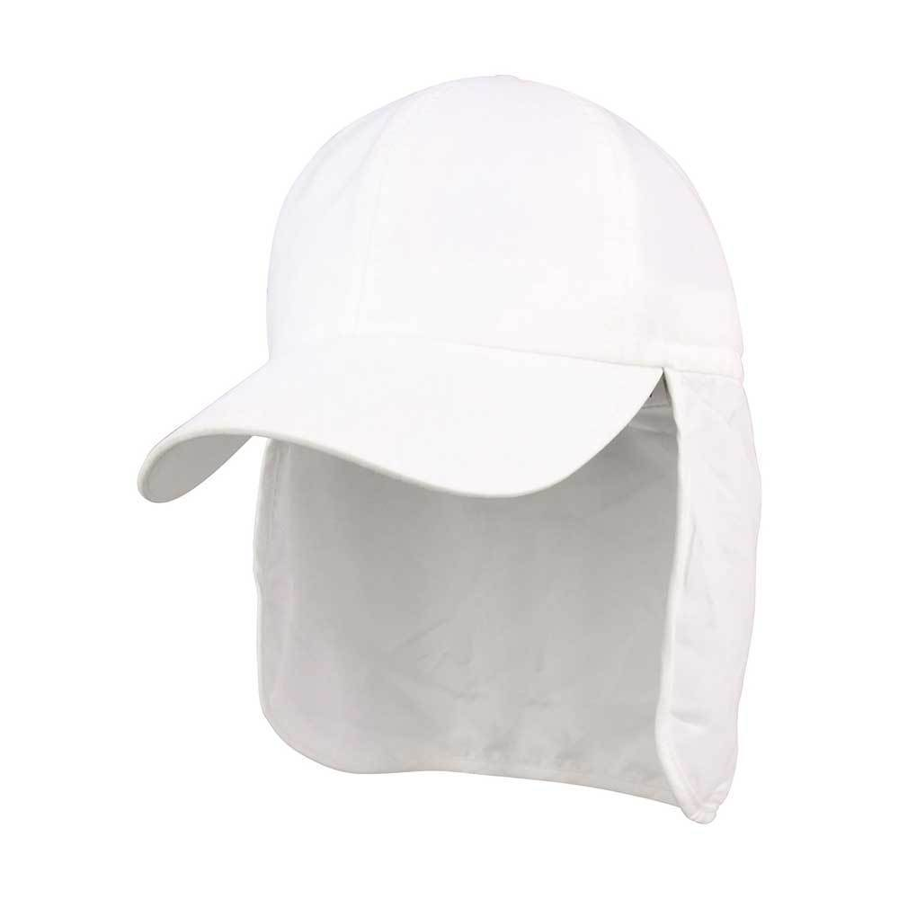 Brushed Microfiber Cap With Flap