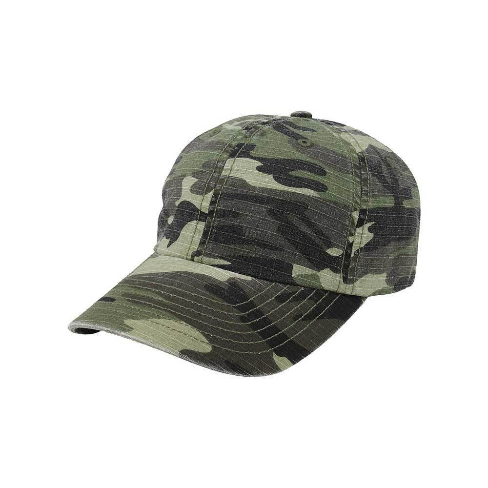 Camouflage Rip-Stop Cap