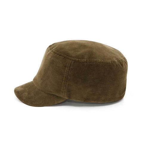 Corduroy Fashion Fitted Engineer Cap