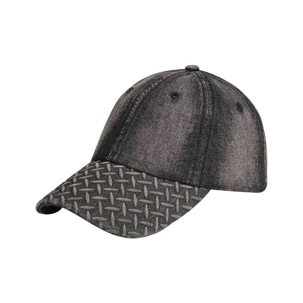Diamond Plate Washed Cap