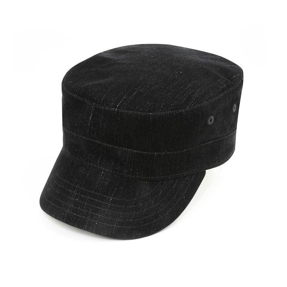 Fashion Denim Army Cap