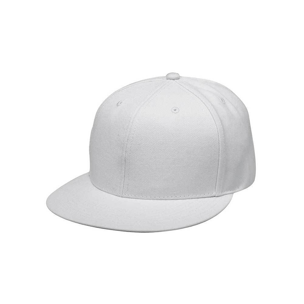 Flat Bill Fitted Cap