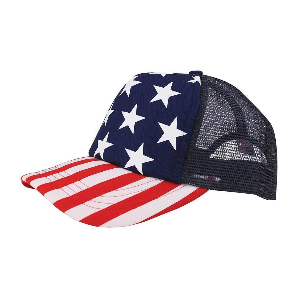 Foam Trucker USA Cap