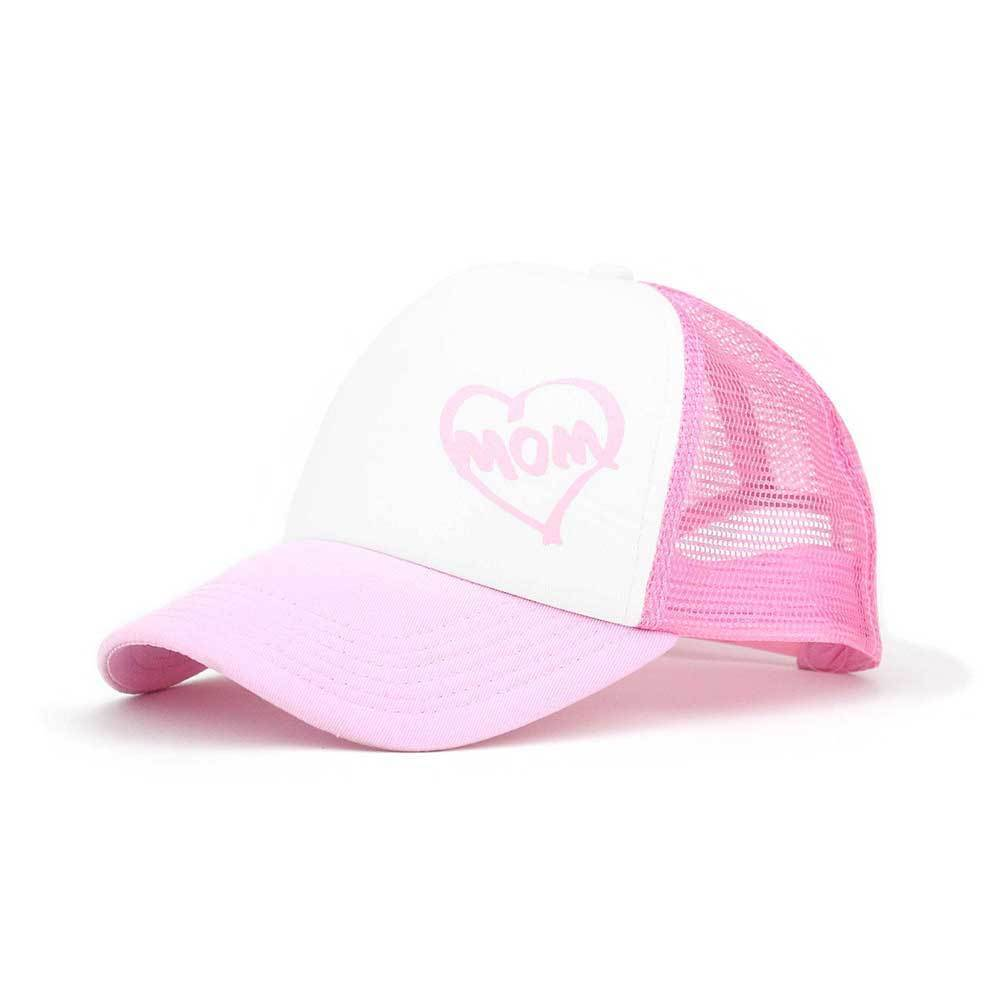 Trucker cap with white cotton twill foam front and mesh back ... 87083700384b