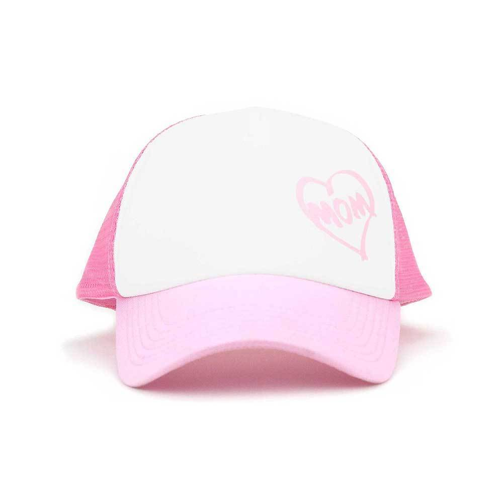 Heart Mom Trucker Mesh Cap