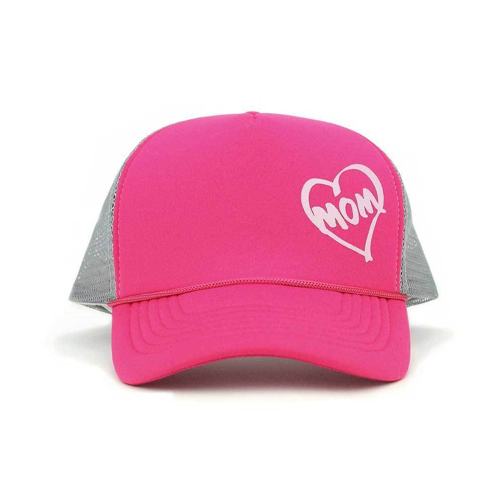 Heart Mom Trucker Cap