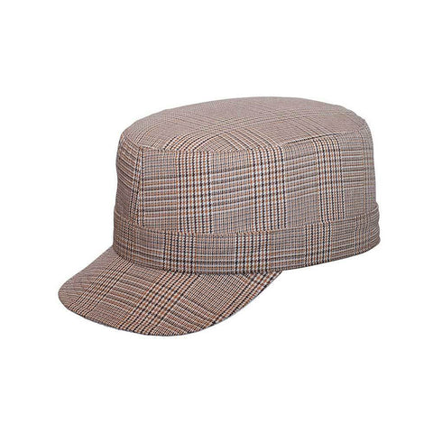 2205ff96c12 Ladies  fashion plaid military cap – ISelections