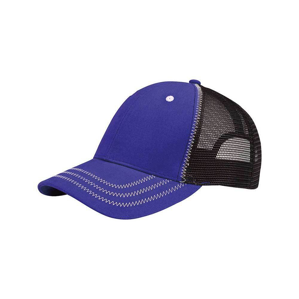 Low Profile Structured Mesh Cap