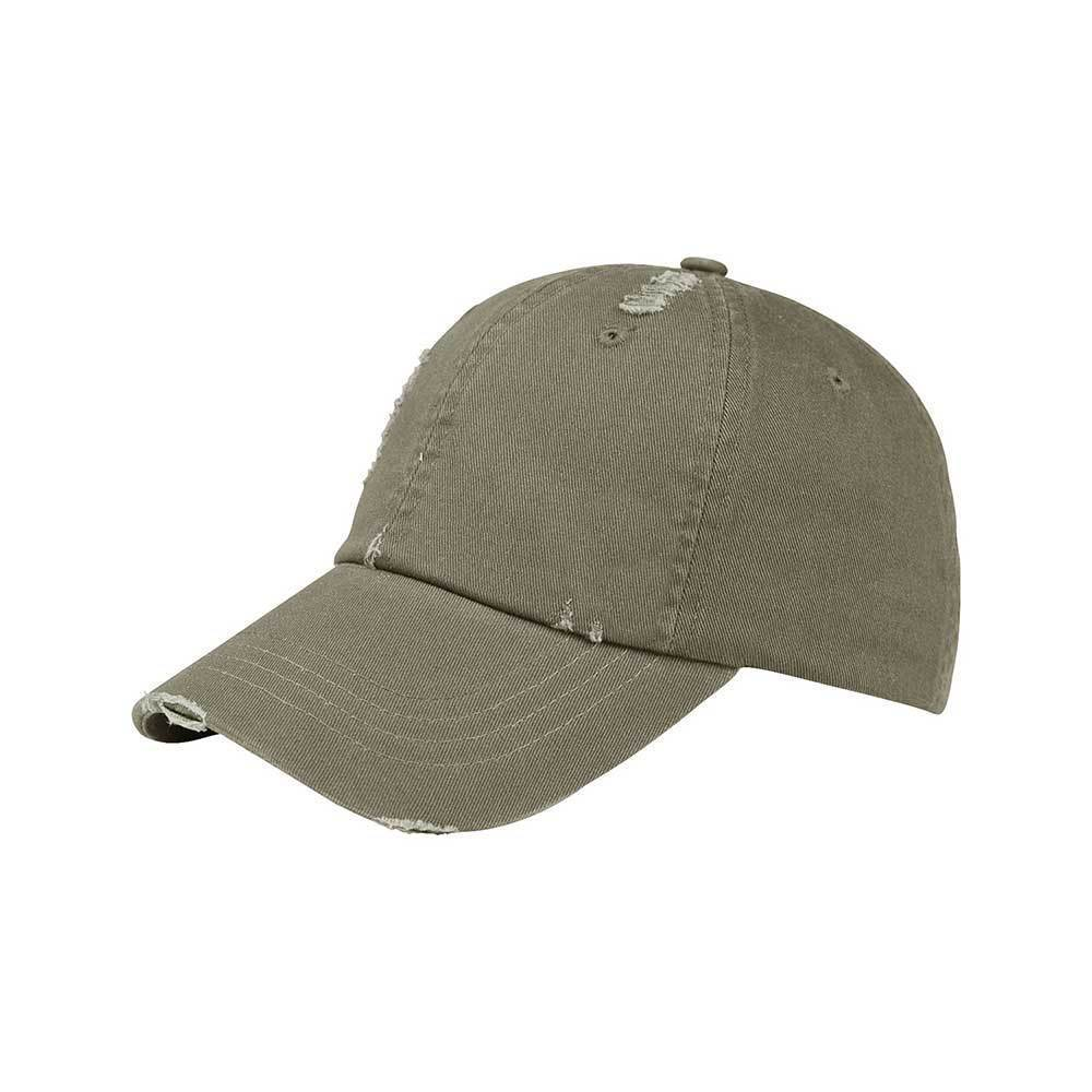 Low Profile Unstructured Washed Twill Distressed Cap
