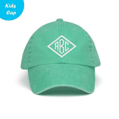 479171f99ef Customized Monogram Youth Casual Washed Cotton Twill Cap – ISelections