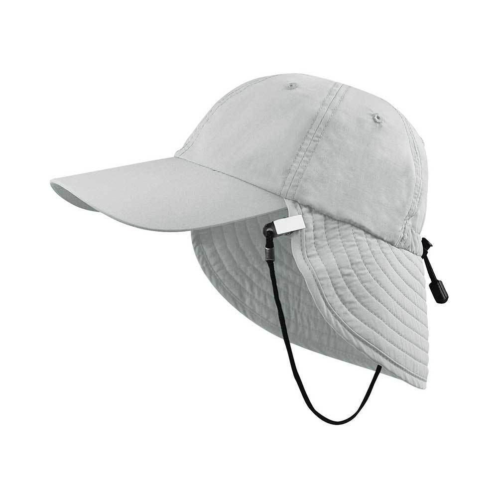 Outdoor Taslon UV Cap With String & Clip