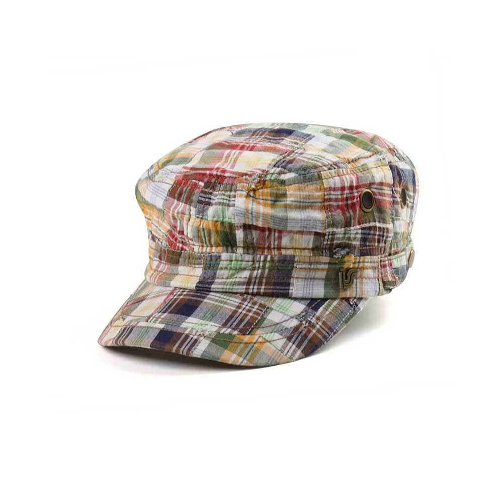 Plaid Army Cap