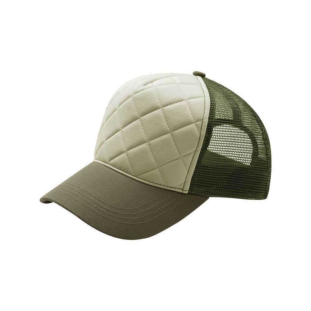 Quilted Trucker Cap