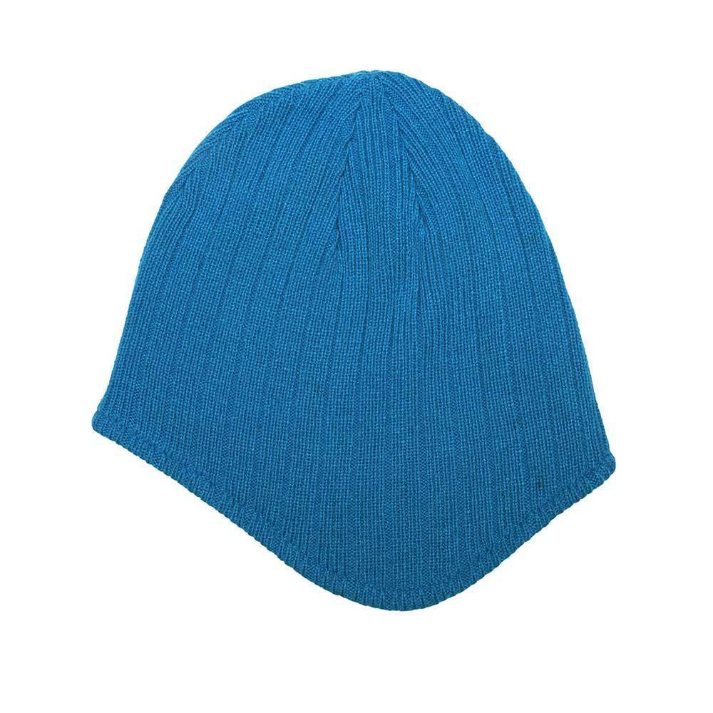 Rib-Knit Ear-Flap Beanie