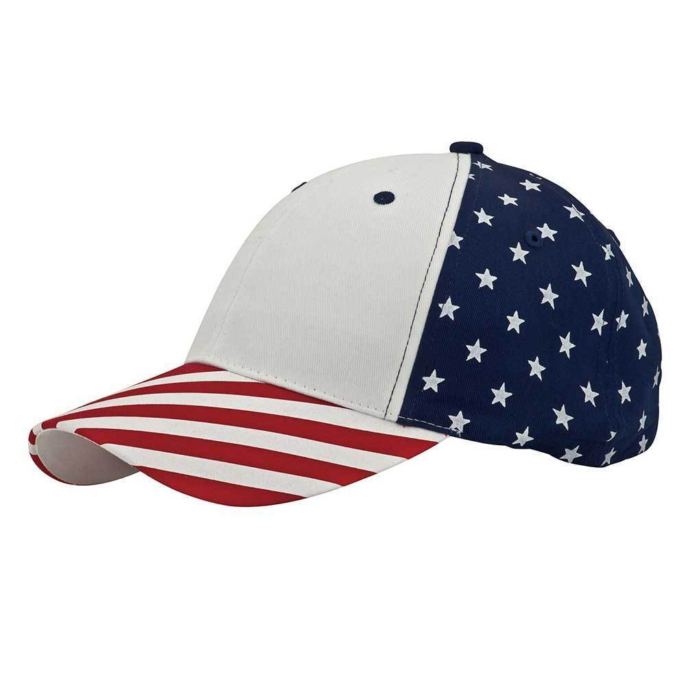 Structured USA Flag Cap
