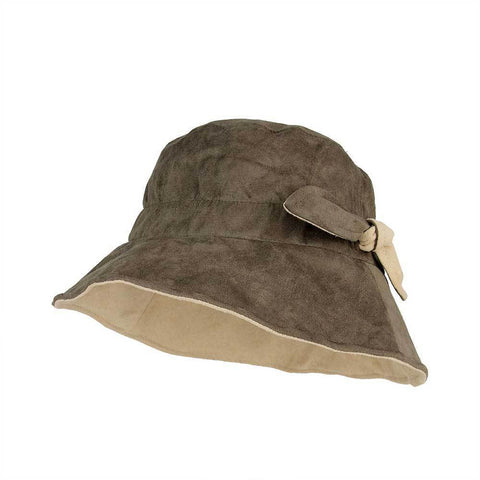 Suede Fashion Bucket Hat