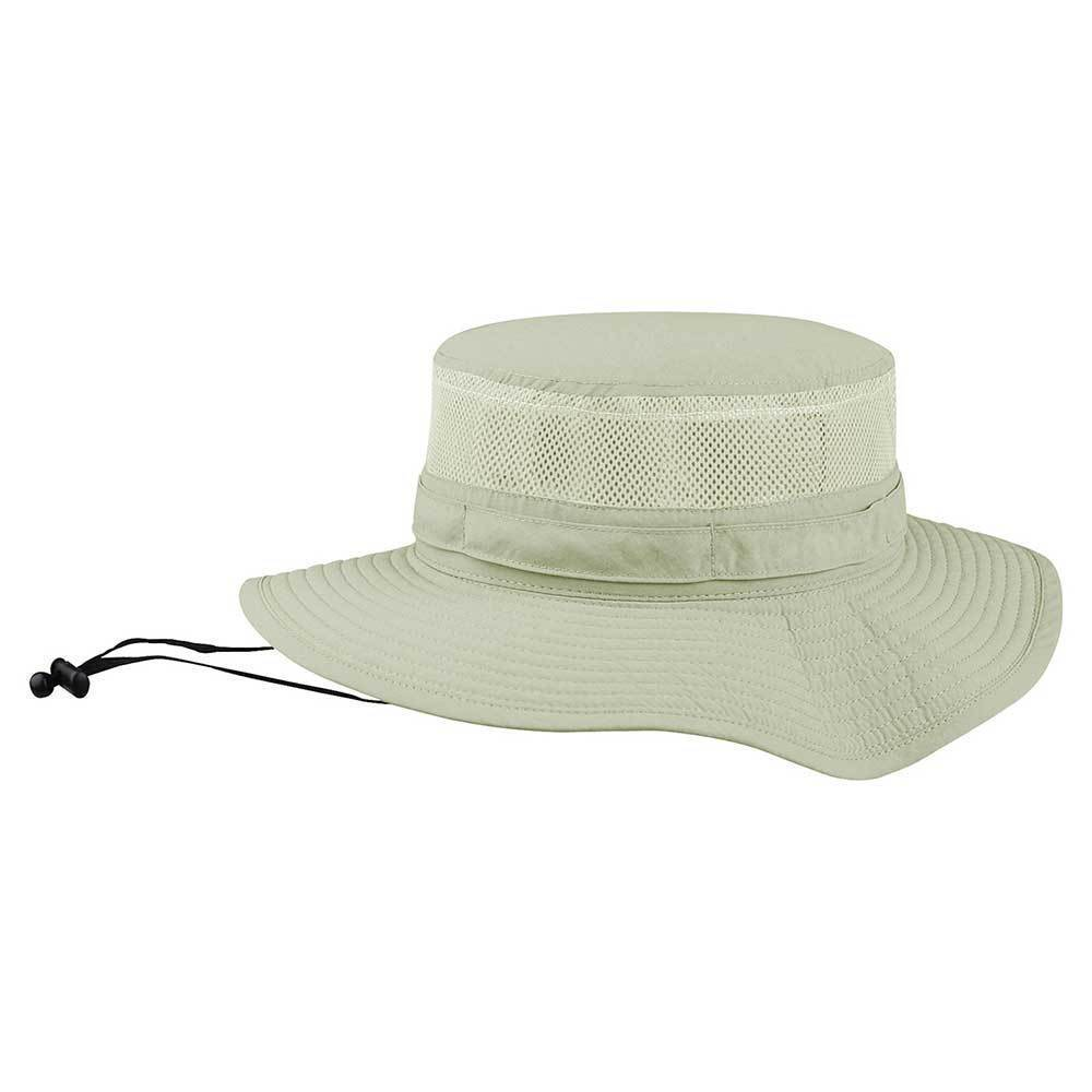 Taslon UV Bucket Hat With Mesh Crown