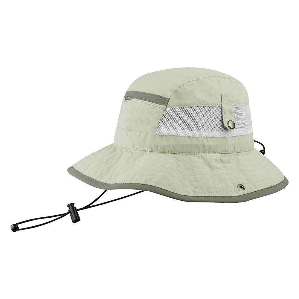 Taslon UV Bucket Hat With Zipper Pocket