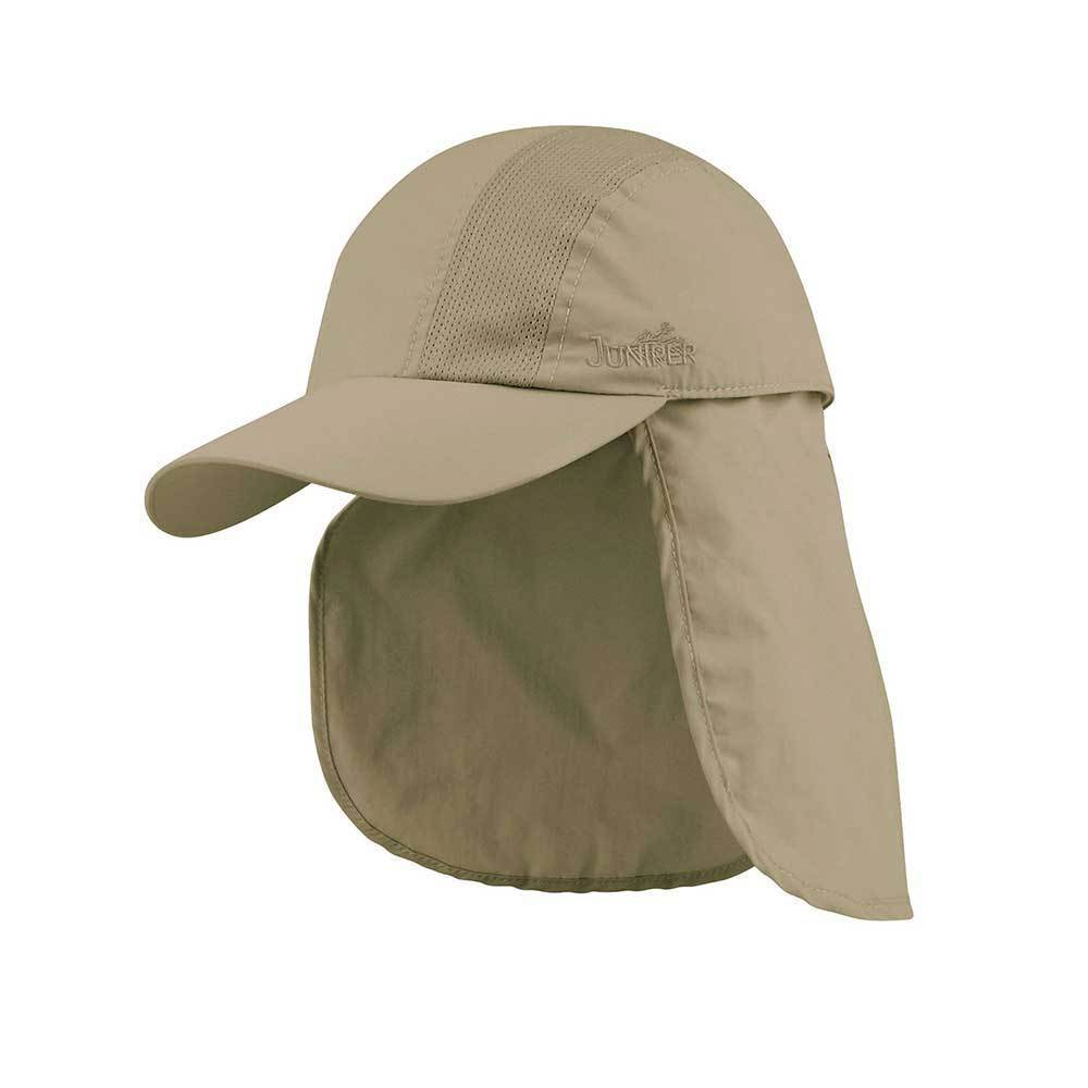 Taslon UV Cap W/Detachable Flap