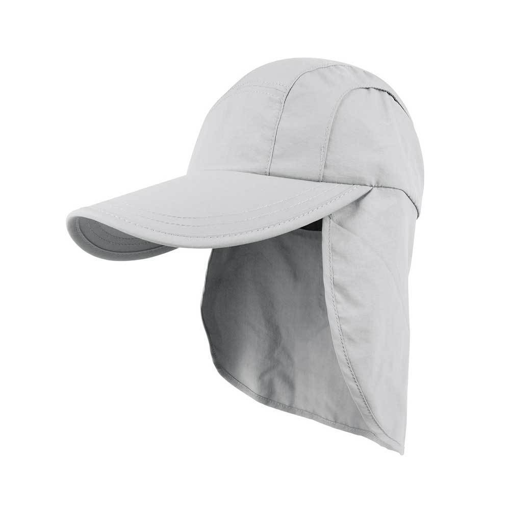 Taslon UV Cap With Flap & Drawstring