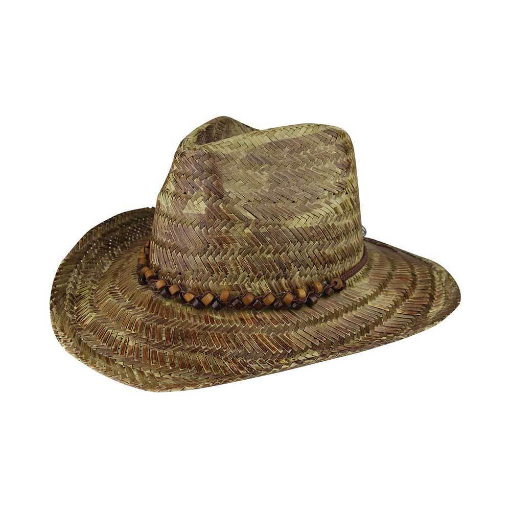 Tea Stained Cowboy Straw Hat