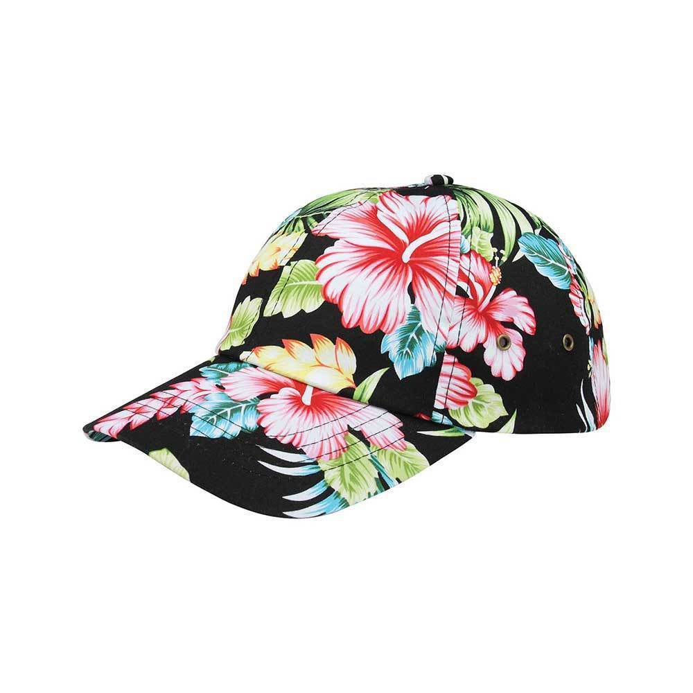 Unstructured Floral Cap