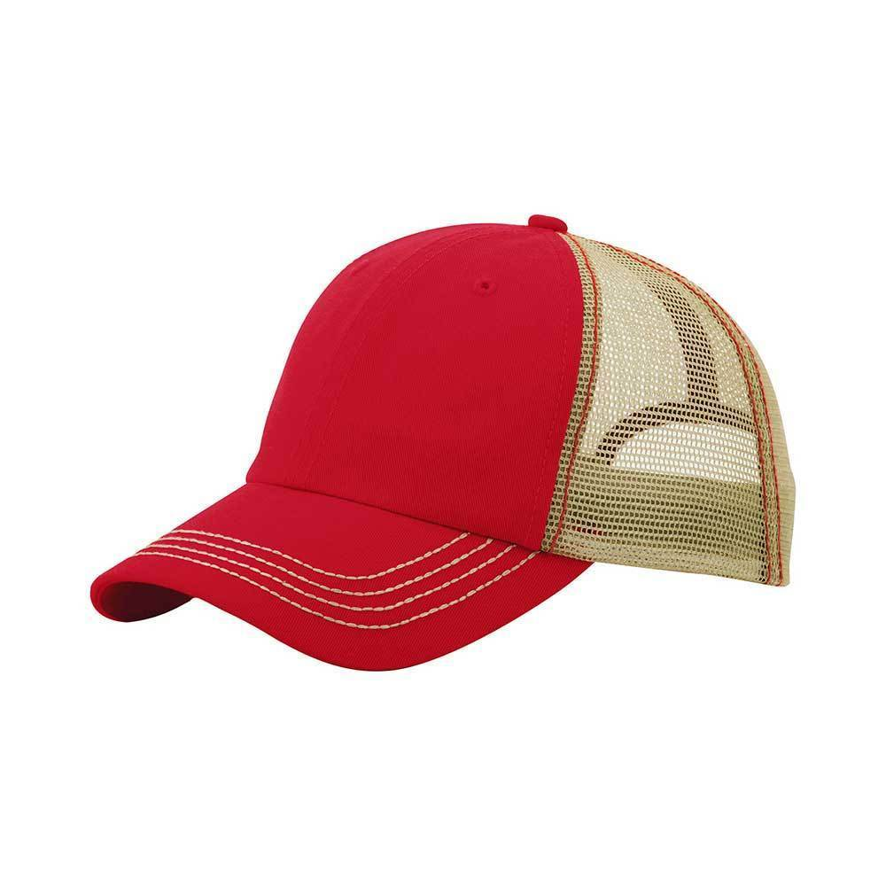 Washed Contrast Trucker Cap