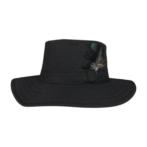 Waxed Cotton Canvas Western Hat