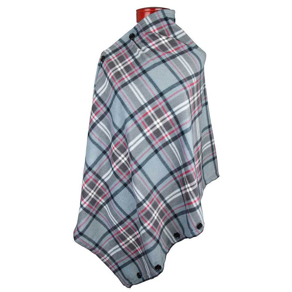 Women's Convertible Fleece Scarf & Shawl