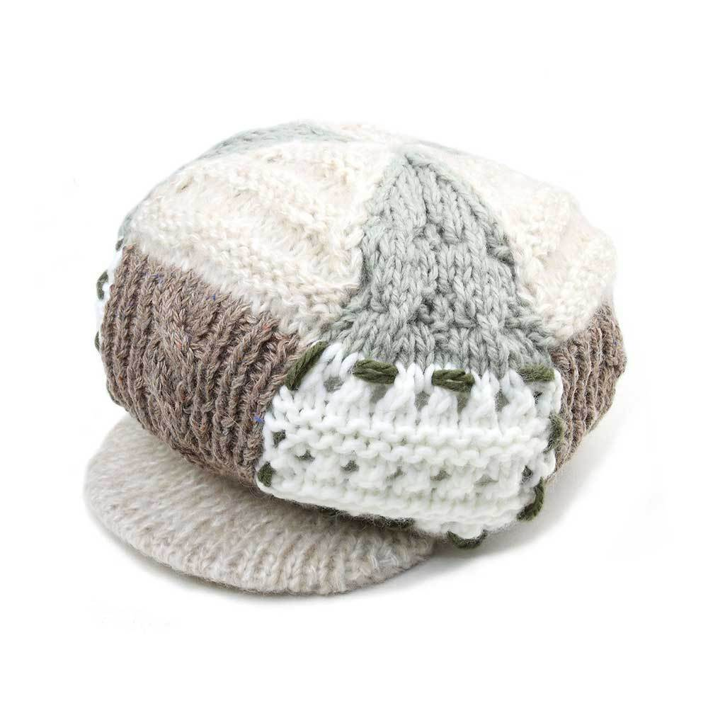 Women's Fashion Knitted Newsboy Cap
