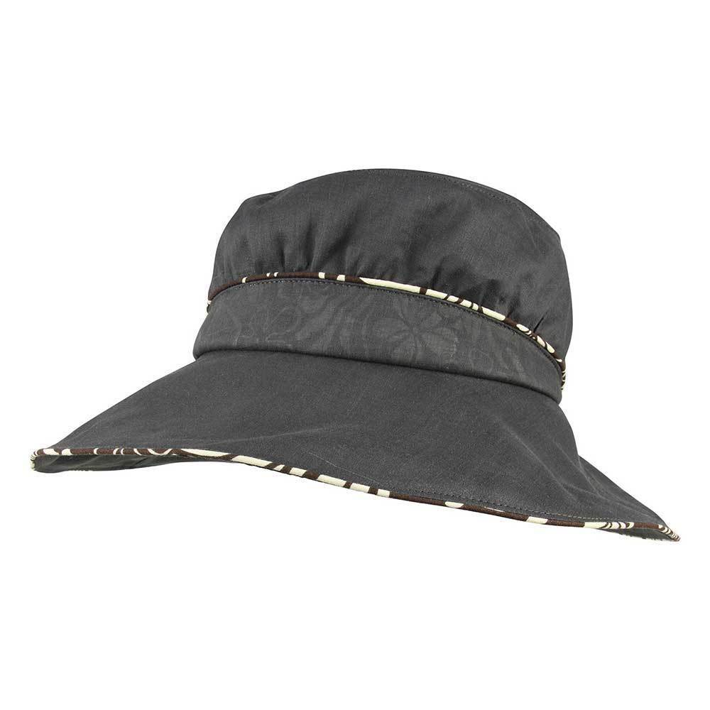 Women's Wide Brim Bucket Hat