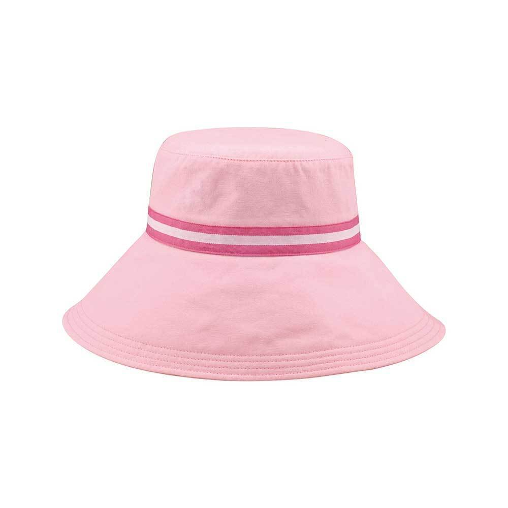 Women's Wide Brim Canvas Bucket Hat