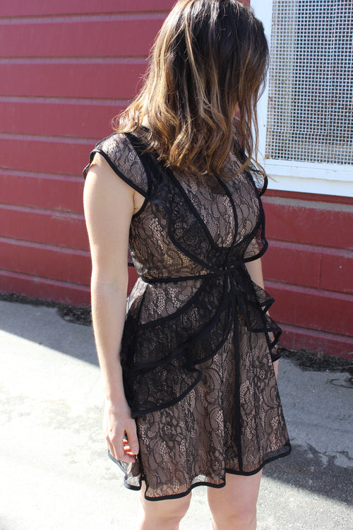 Ruffles 'N Lace Dress