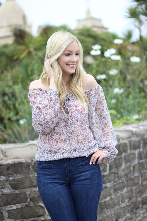Rene Floral Blouse