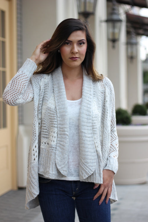 Fall Feels Knit Cardigan