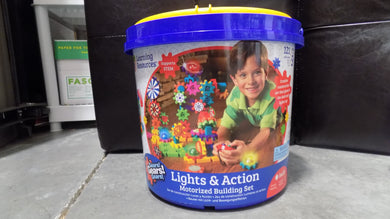 Lights & Action Motorized Building Set