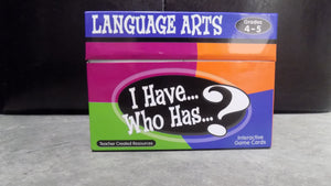 I have... Who has?  Language Arts 4th/5th
