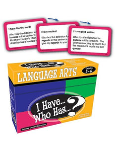 I have... Who has?  Language Arts 5th/6th