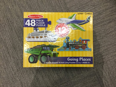Going places puzzles
