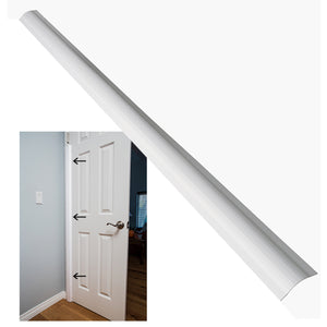 Pinch-Not Home Shield for Rear Side of Door - Guard for Door Finger Child Safety. By Carlsbad Safety Products
