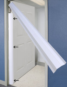 Pinch-Not Home Door Shield Guard for 90 Degree Doors - Finger Shield & Protector to Child Proof Your Door. By Carlsbad Safety Products