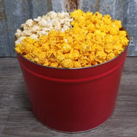 Alamo City Lovers (2 Gal.) - Tin includes 3 favorite San Antonio Flavors - Alamo City Street Corn, Queso, and Churro.