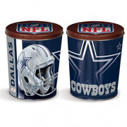 Sport Tin - Dallas Cowboys Tin - 3 Gallon