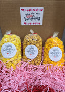 You Are My Extra Everything Box - Box includes 3 jr. bags of extra special popcorn flavors (Extra Buttery, Extra Cheesy, & Extra Buttery Caramel) Price includes shipping to any front door in the continental U.S.