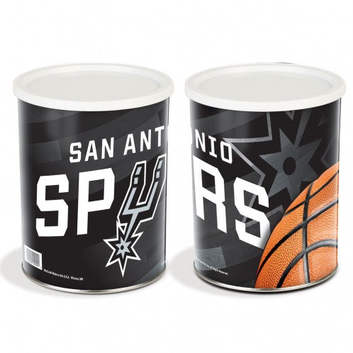 Sport Tin - San Antonio Spurs Tin - 1 Gallon