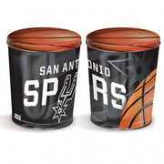 Sport Tin - San Antonio Spurs Tin - 3 Gallon